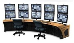 Concave Sight-Line Console (Mounting for 10 Monitors) W5702
